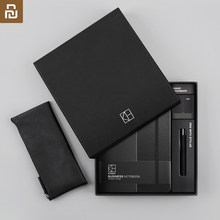 Xiaomi youpin kinbor business suit pen notebook Bookmarks Pencil case Office gift suit Practical high quality best gift(China)