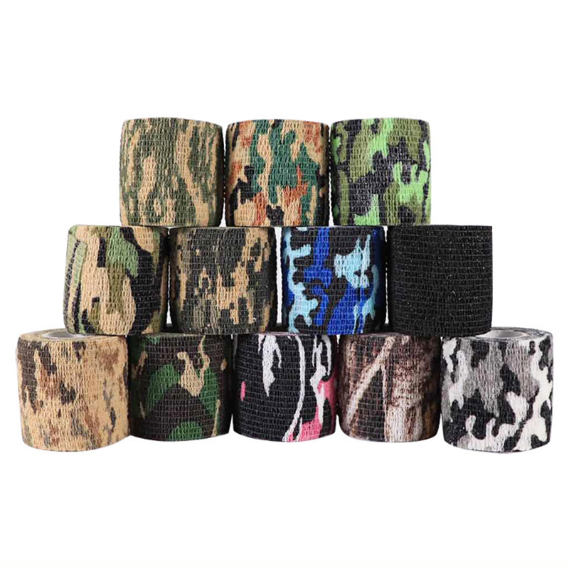 5cmx4.5m Army Camo Outdoor Hunting Shooting Blind Wrap Camouflage Stealth Tape Waterproof Wrap Durable HOT Camping Camo Wrap