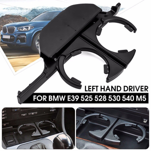 Car Dash Mounted Console Cup Holder Front Left/Right Retractable Drinks Holder for BMW E39 525i 530i 540i M5