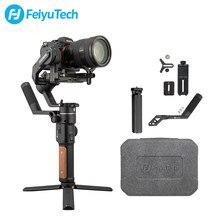 Feiyutech ak2000s dslr câmera profissional estabilizador de vídeo handheld cardan apto para sony mirrorless 2.2 kg carga útil
