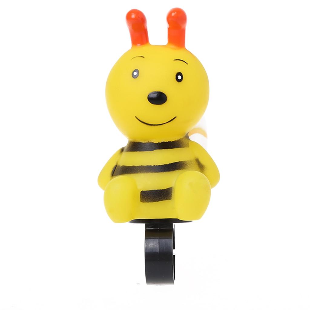 Велосипедный звонок для детей, детское Велосипедное кольцо с рисунком пчелы, милый безопасный рожок, велосипедный руль, Предупреждение