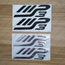 Emblems 3D Logos Motorcycle Stickers for PIAGGIO MP3 Moto Scooter