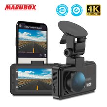 Marubox Dash Cam 4K M290 Shd 2160P Auto Dvr Camera 3 Inch Auto Dashboard Camera Recorder Met Wifi voor En Achter Camera 1080P