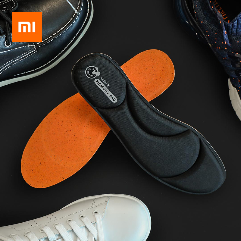 Xiaomi Youpin Freetie Rebound Memory Foam Soft Cushioning Insole Ergonomic Comfortable Fit Breathable Anti-bacteria Insoles