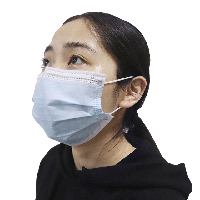 50PCS Antipolvere Viso Bocca Maschere Usa E Getta Maschera Maschera di Respirazione Maschera di Sicurezza Anti Anti Elastico Viso Cura 4