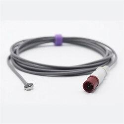 Compatível para a pele do sensor da ponta de prova da temperatura da philips m21078a para o paciente monior, único termistor