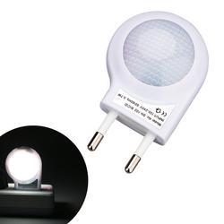 Lámpara LED de noche de Caracol CA 100-240V, lámpara de pared con Sensor de luz automático incorporado, Control ABS para el hogar, dormitorio de bebés y niños, enchufe europeo/estadounidense