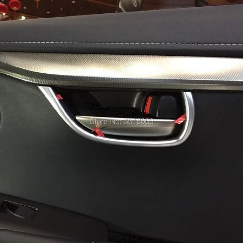 For <font><b>Lexus</b></font> NX NX200 <font><b>NX200T</b></font> NX300H <font><b>2015</b></font> 2016 2017 ABS Chrome Door Handle Bowl Cover Trims Interior Car Styling <font><b>Accessories</b></font> image