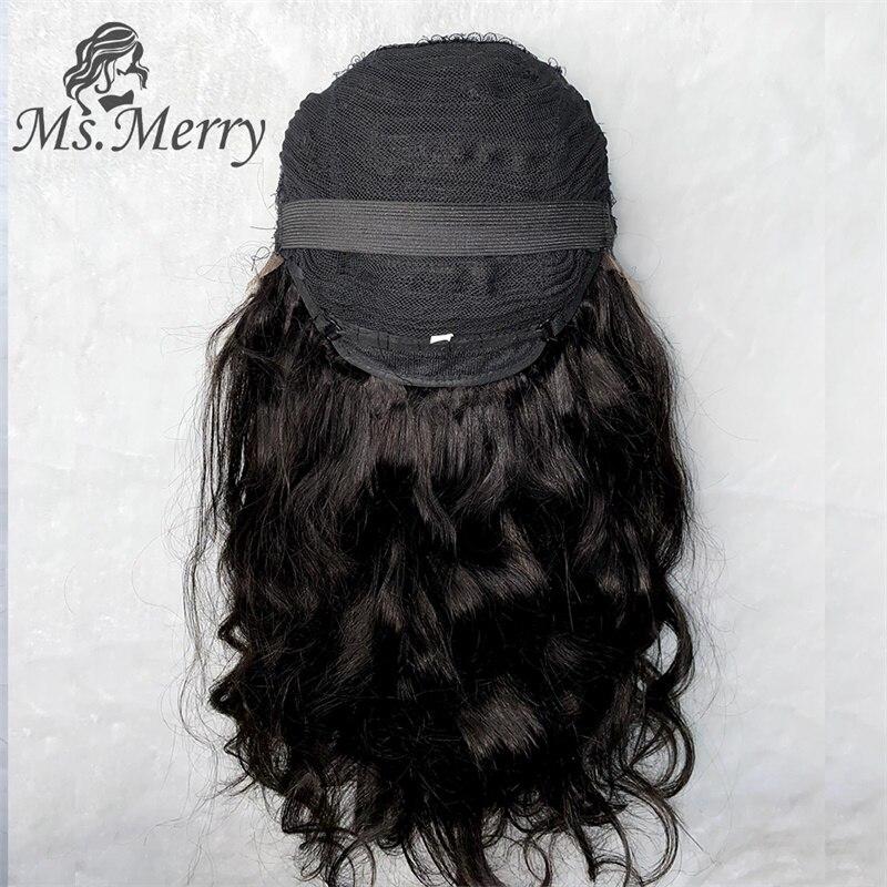 Ms. merry hd perucas frontais do laço