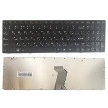 Русская клавиатура для Lenovo G580 Z580 Z580A G585 Z585 RU Клавиатура для ноутбука с черной рамкой