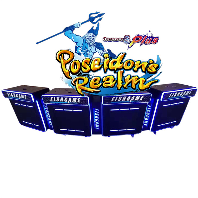 Best Seller IGS Fish Game Machine Ocean King 3 Plus Poseidon's Realm Arcade Machine Coin Operated Games 1