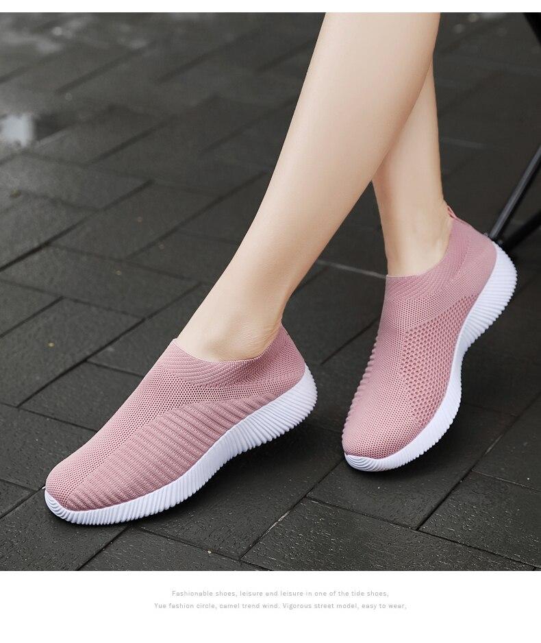 Mulher tênis primavera senhoras sapatos planos casuais