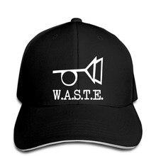 Czapka z daszkiem odpady W.A.S.T.E. Logo czapki baseballowe Thomas Pynchon Posthorn Autor Schriftsteller
