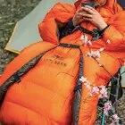 ASTAGEAR 20D Sacco A Pelo Trapunte e Piumoni amaca Underquilt 95% Piume D'anatra Bianca Imbottiture Mummia Sacco A Pelo Coperta Zerbino - 6