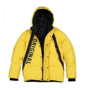 Image 5 - SIMWOOD 2019 Winter Fashion White Duck Down Coats Men Hip Hop Letter Jacket High Quality Parka Slim Fit Brand Clothing 180433
