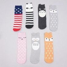 Spring Hot Fall Baby Girls KneeHigh Socks Cat Princess Design Long Tube Cute Children Shoe Upright Legwarmer Towel Neutral