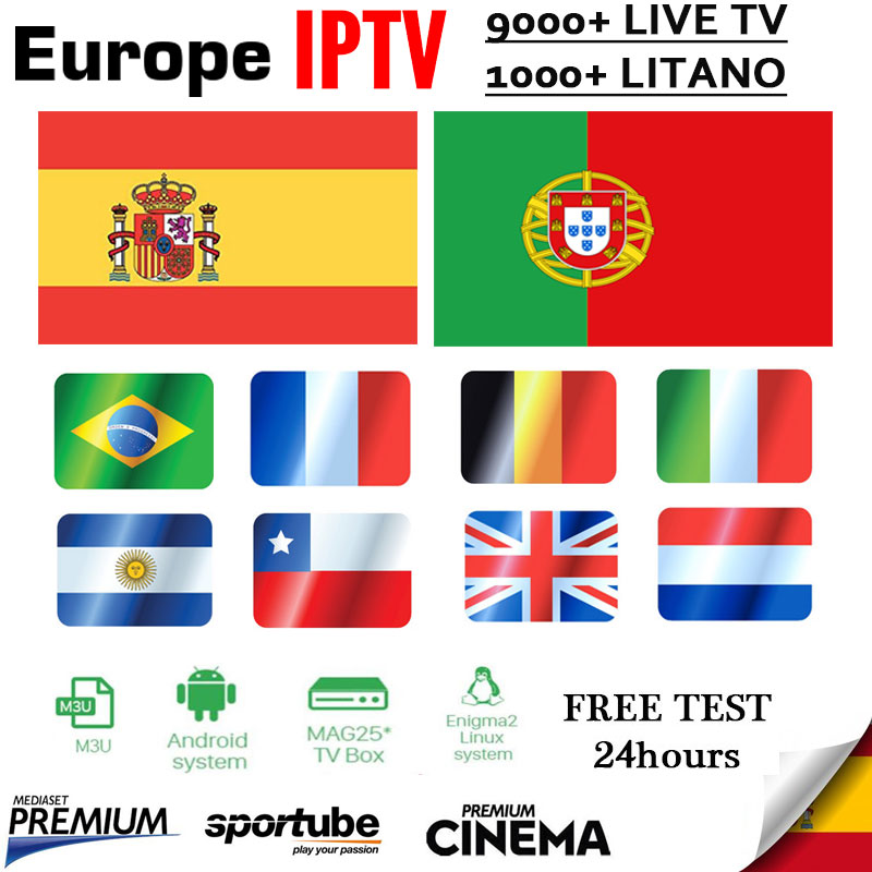 Iptv sapin 1 an iptv portugal pour tv box enigma2 smart tv iptv france italie brésil pays-bas 1000 + Latino iptv abonnement