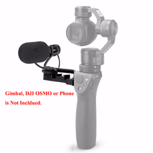 Comica CVM-VM10 II Cardioid Directional Shotgun Video Microphone for DJI OSMO Mobile Plus Smartphone GoPro and Micro Camera