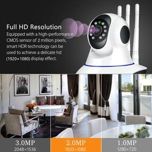 Image 5 - HISEEU IP Camera 1080P HD Wireless Wifi Camera 2MP Wireless Home Security Camera Night Version P2P Home CCTV Camera Baby Monitor