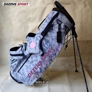 DEZENS 2020 модные Стандартный мяч to Cart 9,0 дюймов тележки Сумки гольфа гольф-кары штатив-Трипод сумка вещи, Набор для игры в гольф