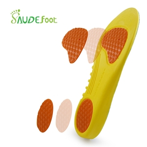 Image 2 - Orthopedic Shoes Insoles Stretch Breathable Shock Absorption Running Cushion Insoles Shoes Pads Sport Shoes Inserts