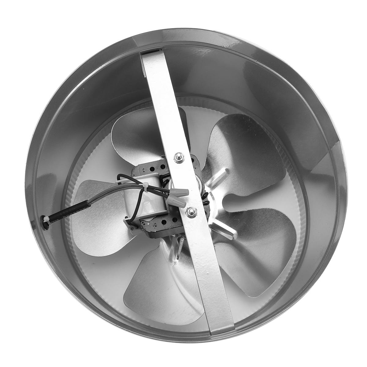Hot 4/6/8/10 Inch Inline Air Ducting Fan Ventilator Metal Booster Fan Blower Intake Out-Take Ventilation Vents For Kitchen Bathr