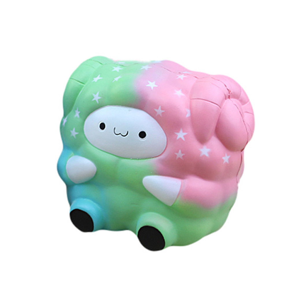 Simulation Of Slow Rebound Little Sheep New And Strange Toy Lovely Kawaii Animal Stuffed Toys  Stress Reliever Toys Gifts L103