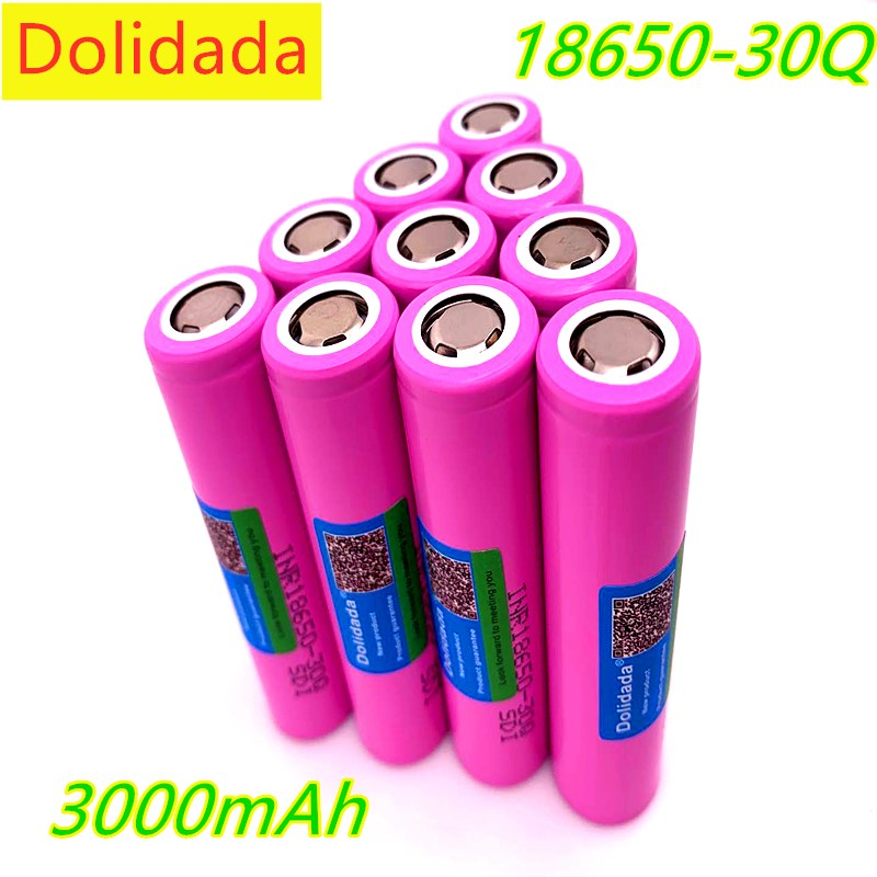Daweikala <font><b>original</b></font> for <font><b>samsung</b></font> 18650 battery 3000 mah INR18650 - <font><b>30Q</b></font> 20A li ion rechargeable battery for electronic cigare image