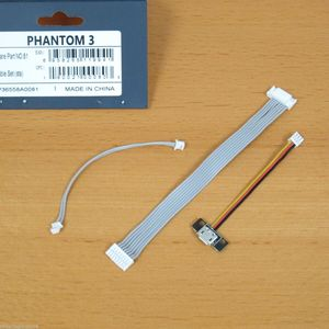 New For DJI Phantom 3 Standard Repair Accessories 2.7K Camera Drone Part 81 Cable Set STA Replacement