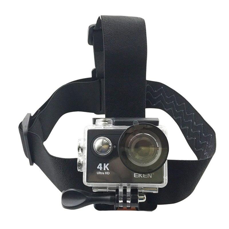 Elastic Adjustable Head Strap Mount For Go pro Hero 4 3 2 EKEN H9 H9R SJCAM SJ4000 SJ4000plus SOOCOO Cameras Accessories
