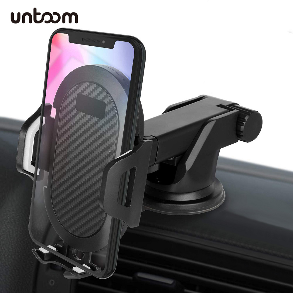 Windshield Dashboard Car Phone Holder For IPhone Xs Max Xr X 8 7 In Car Mount Phone Stand For Samsung S9 S8 Xiaomi GPS Universal