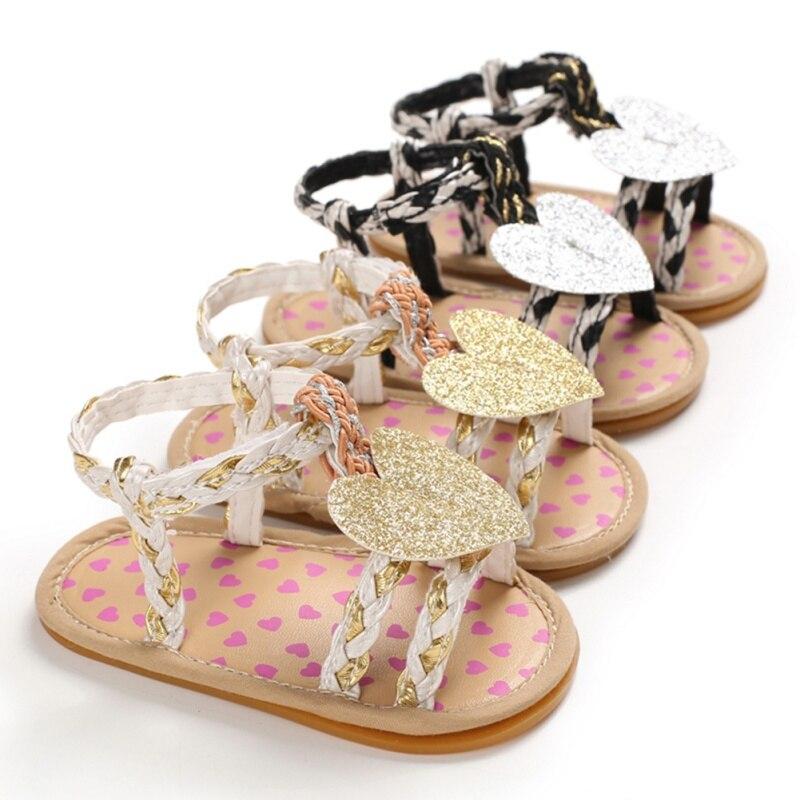 Children Baby Sandals Infant Kids Girls Shoes Non-Slip Cute Bowknot Toddlers Newborn Infantil Sandals Summer
