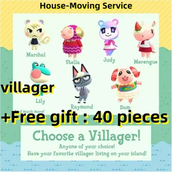 Raymond/Judy/Audie All Villager  Animal Crossing New Horizons Online recharge service [Digital Code] Not Amiibo Card