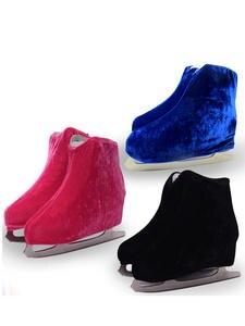 Cover-Roller Skating-Shoes Kids Adult for M 3-Colors 1-Pair Velvet Flannelette Elastic