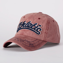цена на Men's Baseball Cap Washing Han Edition Of The New Spring Do Old Hat Retro Letters Three-dimensional Embroidery Sun