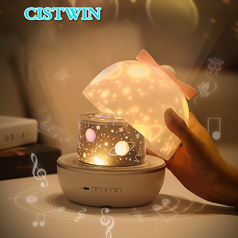 Skylite Projector Kids Lamp Home Planetarium Projector Night Light Birthday Gifts Stars LED Lights Christmas Decoration Bedside