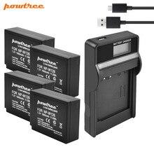 цена на Powtree 7.2V 1.6Ah NP-W126 Camera Battery +USB Charger For Fujifilm FinePix HS30EXR HS33EXR X-Pro1 X-E1 X-E2 X-M1 X-A1 X-A2 X-T1