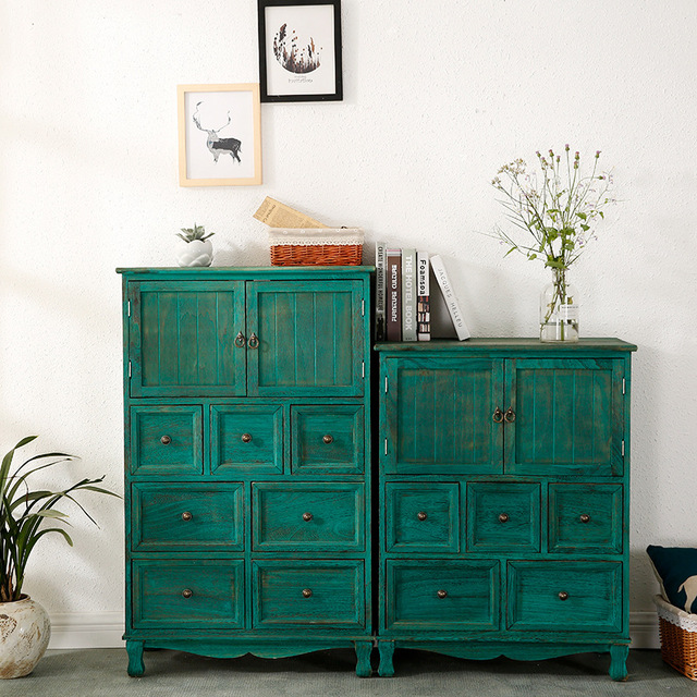 Wooden Multi-Layer Chest of Drawers  4