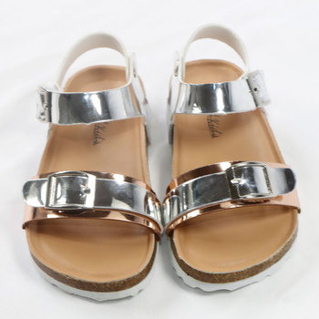 2020 Summer Kids Shoes Brand Open Toe Toddler Girls Sandals Orthopedic Corks PU Leather Baby Girl Sandals Shoes сандалии bos baby orthopedic shoes bos baby orthopedic shoes mp002xg00jc2