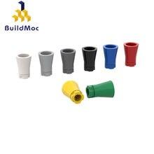 Buildmoc-bloques de construcción de palmera para niños, juguete de piezas de bloques de construcción DIY, para regalo de Navidad, 6135, 2536