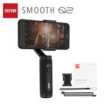ZHIYUN SMOOTH Q2 Cardán ZHIYUN oficial , 3 ejes, tamaño bolsillo, estabilizador de mano para Smartphone iPhone, Samsung, HUAWEI, Xiaomi Vlog