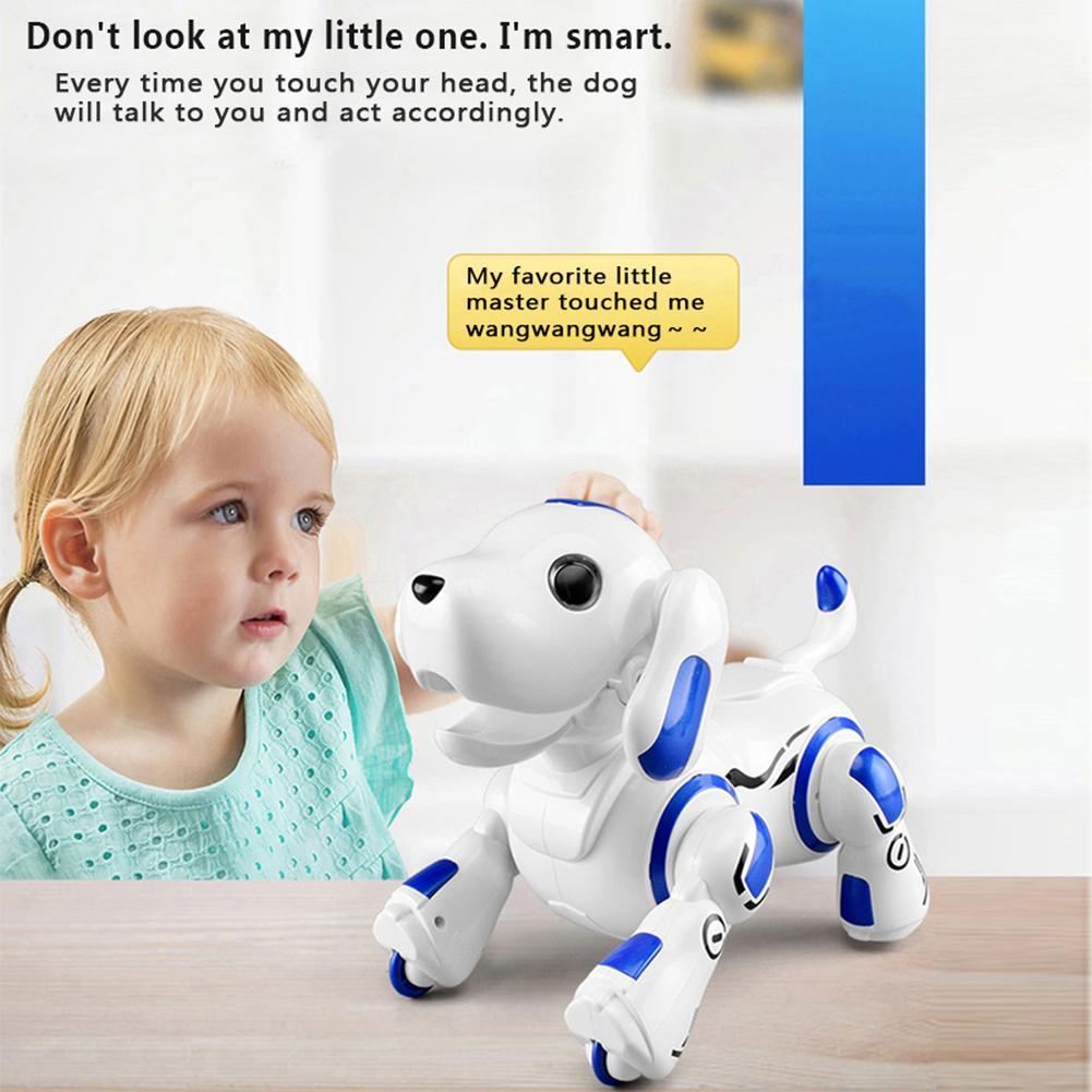 comandos de voz controle app robo brinquedo 04