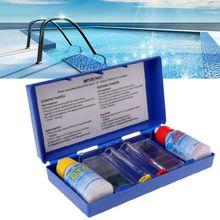 Прямая поставка и PH Тест качества воды набор гидропоники хлора тест ing бассейн Аквариум Oct. 9