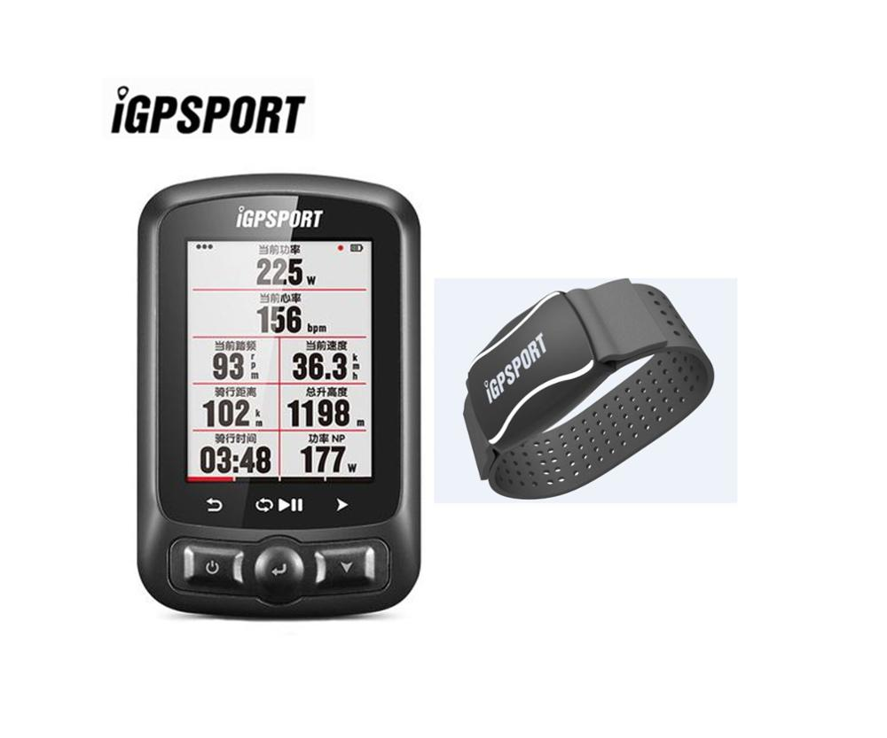 Automatic Backlight IGS618 IGPSPORT Gps Tracker Waterproof Gps Speedometer Navigation Speedometer IPX7 3000 Hours Data Storage