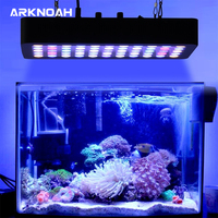 ARKNOAH Dimmable LED Aquarium Light 165w Full Spectrum for Coral Reef Fish Freshwater and Saltwater Marine Tanks