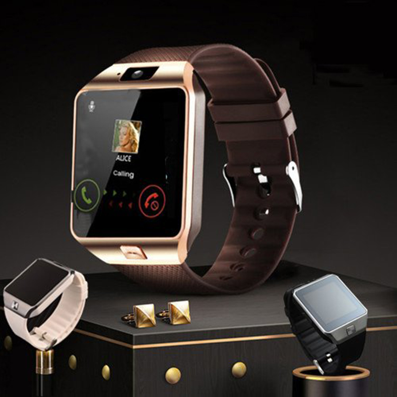 2019 Intelligent Smartwatch Digital Sport Gold Smart Watch DZ09 Pedometer For Pge Bluetooth