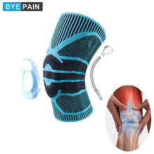 Knee Brace Compression Sleeve Wraps Patella Stabilizer with Silicone Gel Spring Support for Meniscus Tear Arthritis Running