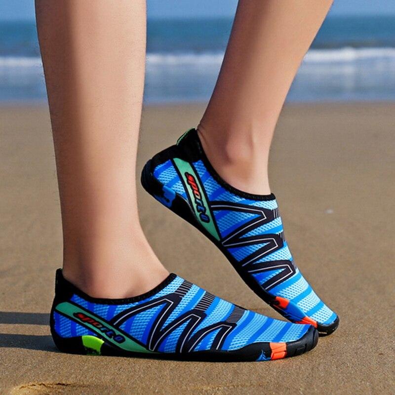 Unisex Sneakers Swimming Shoes Water Sports Aqua Seaside Beach Surfing Slippers Upstream Light Athletic Footwear Men Women