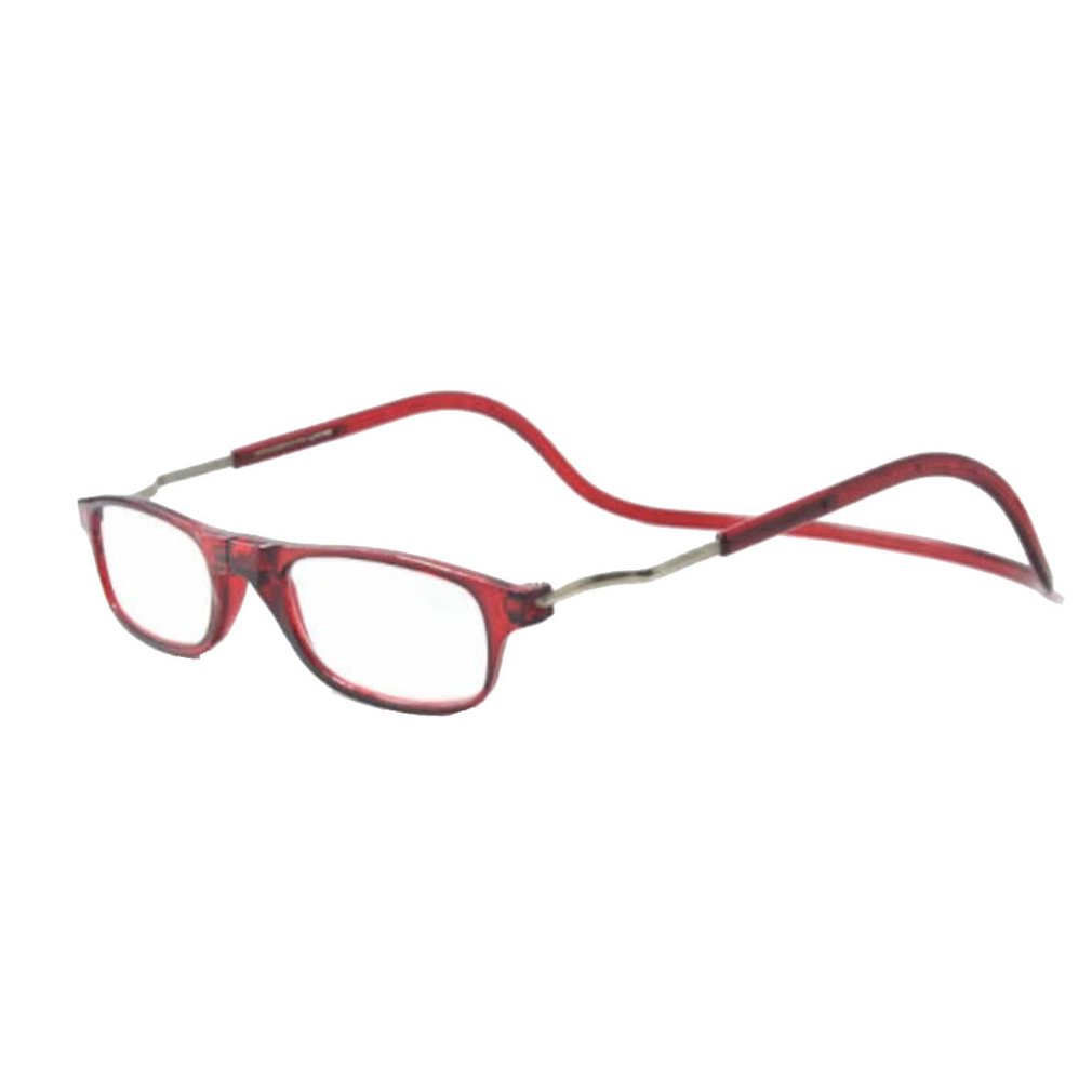 Fashion Magnet Reading Glasses Can Be Hung Neck New Folding Presbyopic Glasses Anti-Drop Glasses Take Convenient