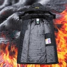 Мужские куртки, ветровка, зимняя, внутренняя, водонепроницаемая, флис, с капюшоном, для улицы, теплое пальто, для походов, кемпинга, походов, лыж